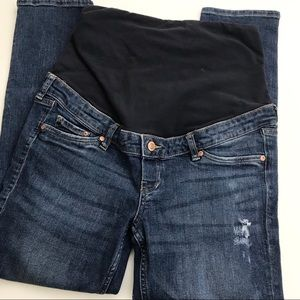 ** H & M ** maternity jeans in skinny coupe cut